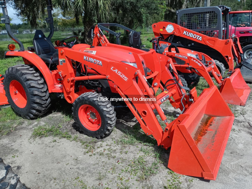 Kubota l2501 for sale in Florida1