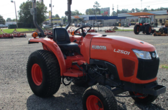 Kubota l2501 with cab for sale