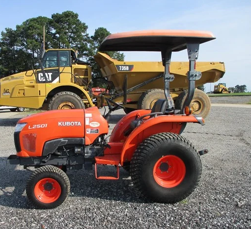 Kubota l2501 with cab for sale2