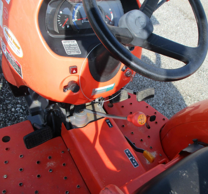Kubota l2501 with cab for sale6